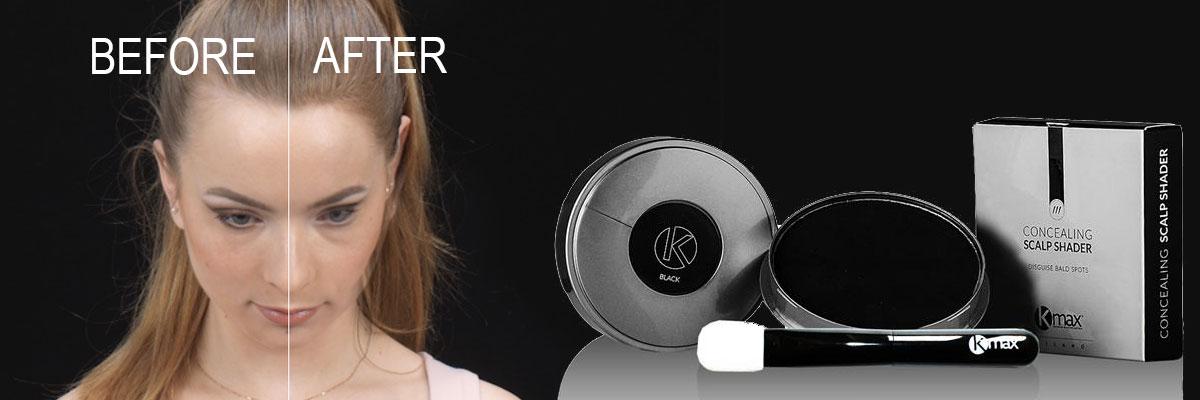 пудра-стайлинг для редких волос kmax италия до и после