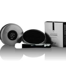 Kmax Пудра-стайлинг для редких волос компакт водостойкая