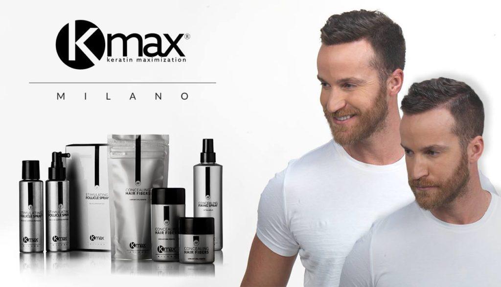 Парикмахерская дома KMAX_средства стайлинга для редких волос из Италии