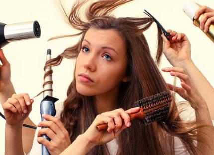 выпадение волос весной
