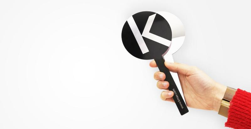 Аксессуары для укладки тонких волос Kmax_функциональное зеркало